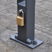 New product online: Folding bollard with push button SCAPE