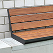 New product online: wall-top bench Aurich PAG