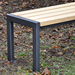 New product online: bench Haltern