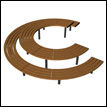 New product online: AURICH circular bench & table set